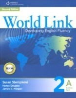 WORLD LINK 2A - STUDENT BOOK / WORKBOOK COMBINED WITH CD-ROM - SECOND EDITION