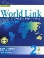WORLD LINK 2B - STUDENT BOOK / WORKBOOK COMBINED WITH CD-ROM - SECOND EDITION