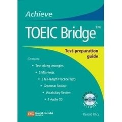 TOEIC BRIDGE: TEST PREPARATION GUIDE WITH AUDIO CD