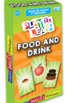 PLAY TO LEARN - FOOD AND DRINK - JOGO DE CARTAS