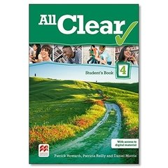 All Clear. Student's Book -  Volume 4