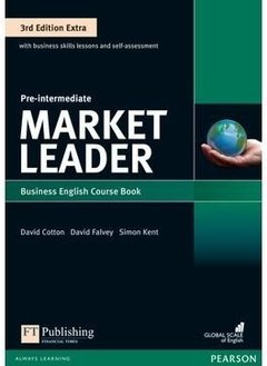 MARKET LEADER PRE-INTERMEDIATE  THIRD EDITION EXTRA - STUDENT S BOOK WITH DVD-ROM