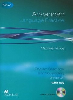 ADVANCED LANGUAGE PRACTICE - BOOK WITH KEY AND CD-ROM - THIRD EDITION
