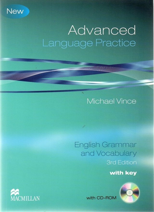 *ADVANCED LANGUAGE PRACTICE - BOOK WITH KEY AND CD-ROM - THIRD EDITION