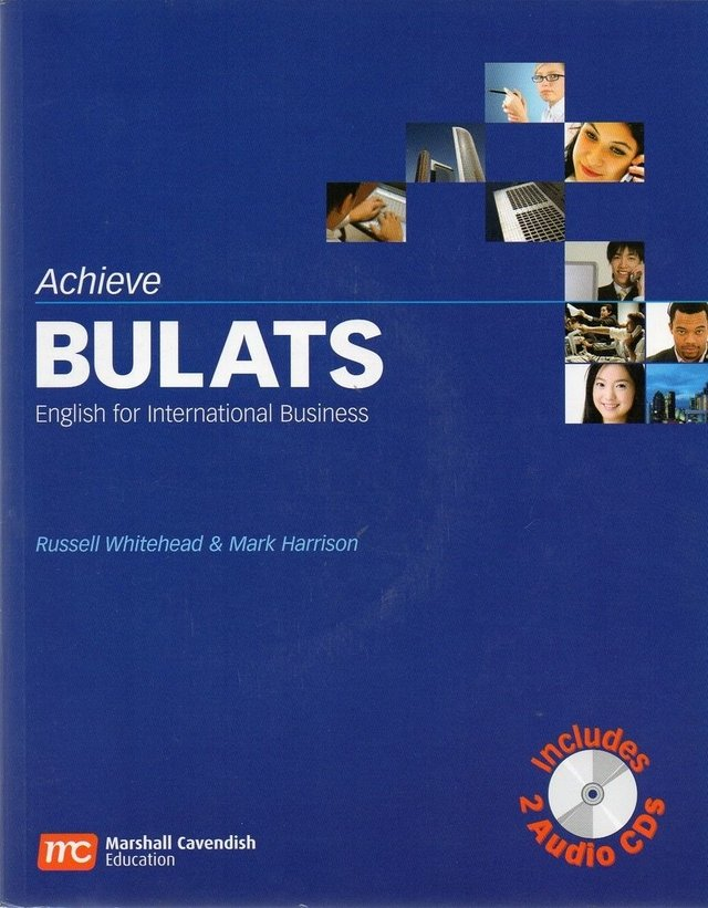 *ENGLISH FOR INTERNATIONAL BUSINESS - ACHIEVE BULATS WITH AUDIO CD