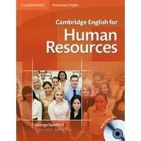 CAMBRIDGE ENGLISH FOR HUMAN RESOURCES - STUDENT S BOOK WITH 2 AUDIO CD S
