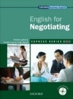 ENGLISH FOR NEGOTIATING - OXFORD EXPRESS SERIES - STUDENT S BOOK WITH MULTI