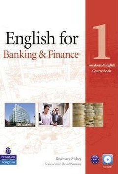 ENGLISH FOR BANKING & FINANCE 1 - BOOK WITH CD-ROM AND AUDIO CD