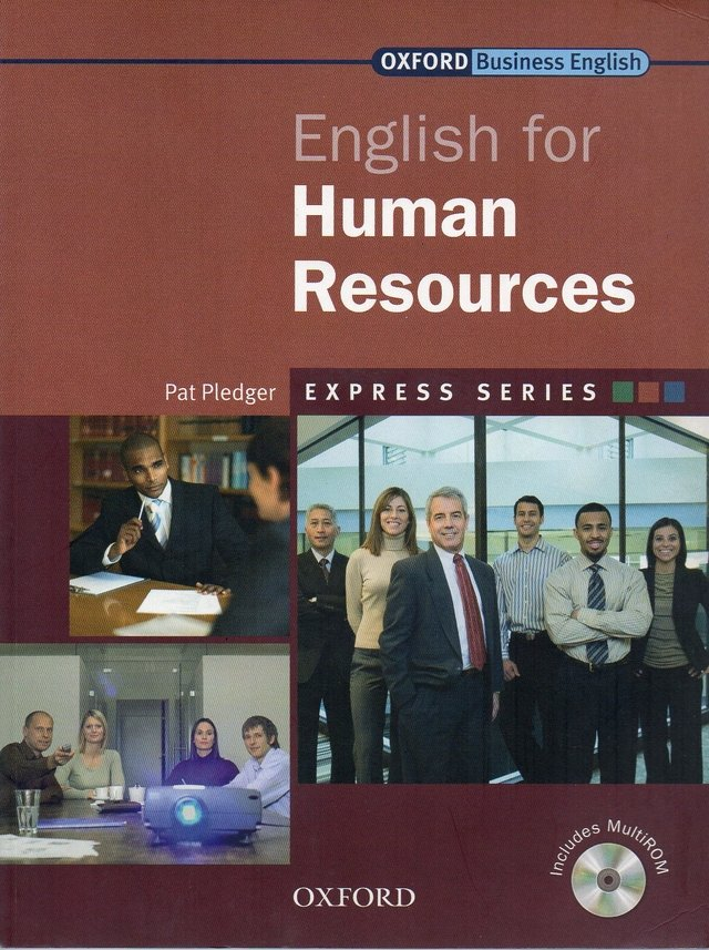 ENGLISH FOR HUMAN RESOURCES - OXFORD EXPRESS SERIES - STUDENT S BOOK WITH M