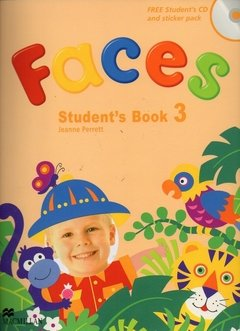 FACES 3 - STUDENT'S PACK WITH THE STUDENT AUDIO CD AND STICKER PACK