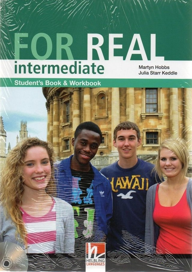 FOR REAL INTERMEDIATE - STUDENT S BOOK WITH WORKBOOK AND CD-ROM