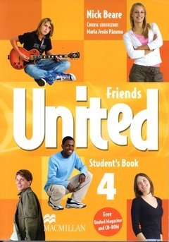 FRIENDS UNITED 4 - STUDENT S BOOK WITH MAGAZINE AND CD-ROM