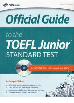 OFFICIAL GUIDE TO THE TOEFL JUNIOR STANDART TEST