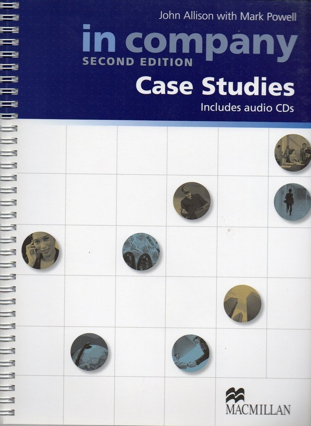 *IN COMPANY CASE STUDIES - BOOK WITH AUDIO CD (2) - SECOND EDITION