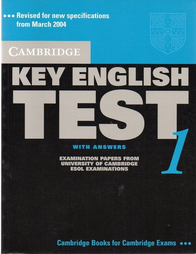 CAMBRIDGE KEY ENGLISH TEST 1 - STUDENT S BOOK WITH ANSWERS - SECOND EDITION