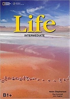 LIFE - INTERMEDIATE B1+ - STUDENT'S BOOK  + DVD