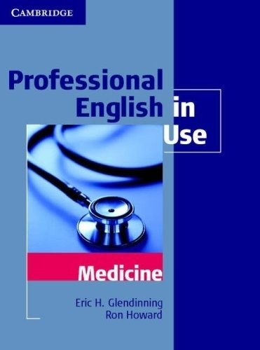 PROFESSIONAL ENGLISH IN USE - MEDICINE
