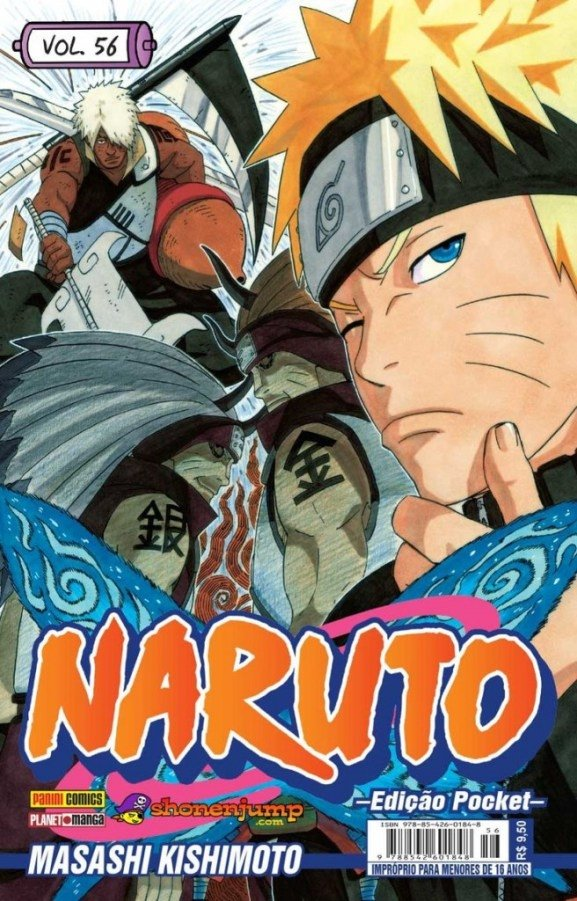 NARUTO POCKET #56