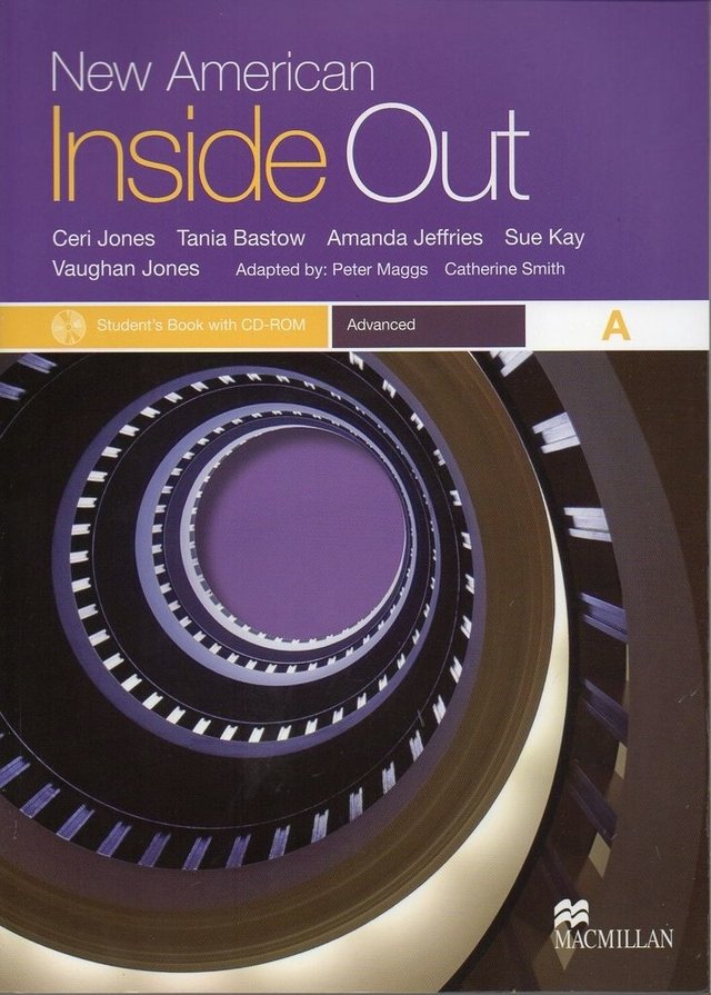NEW AMERICAN INSIDE OUT ADVANCED A - STUDENT S BOOK WITH CD-ROM