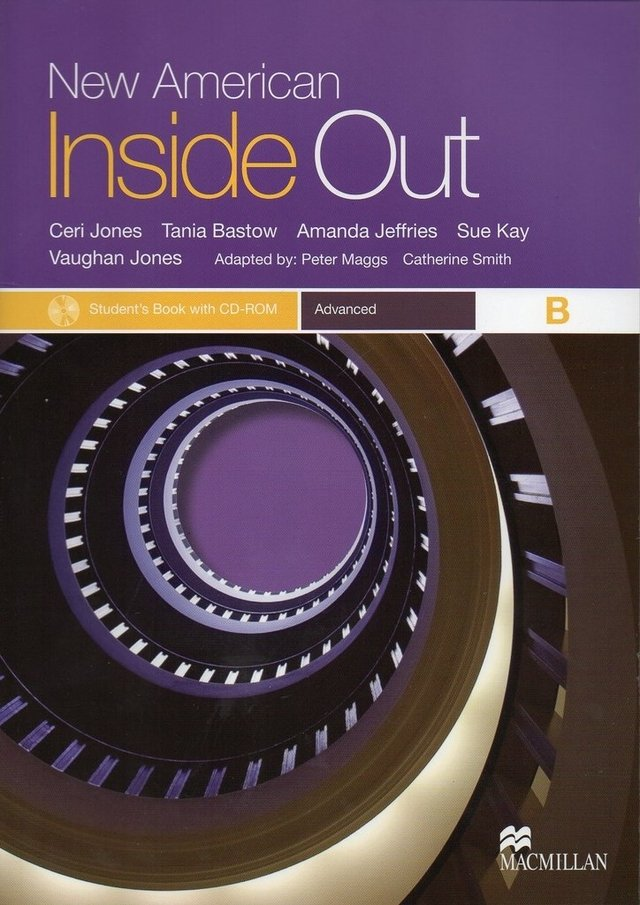 NEW AMERICAN INSIDE OUT ADVANCED B - STUDENT S BOOK WITH CD-ROM