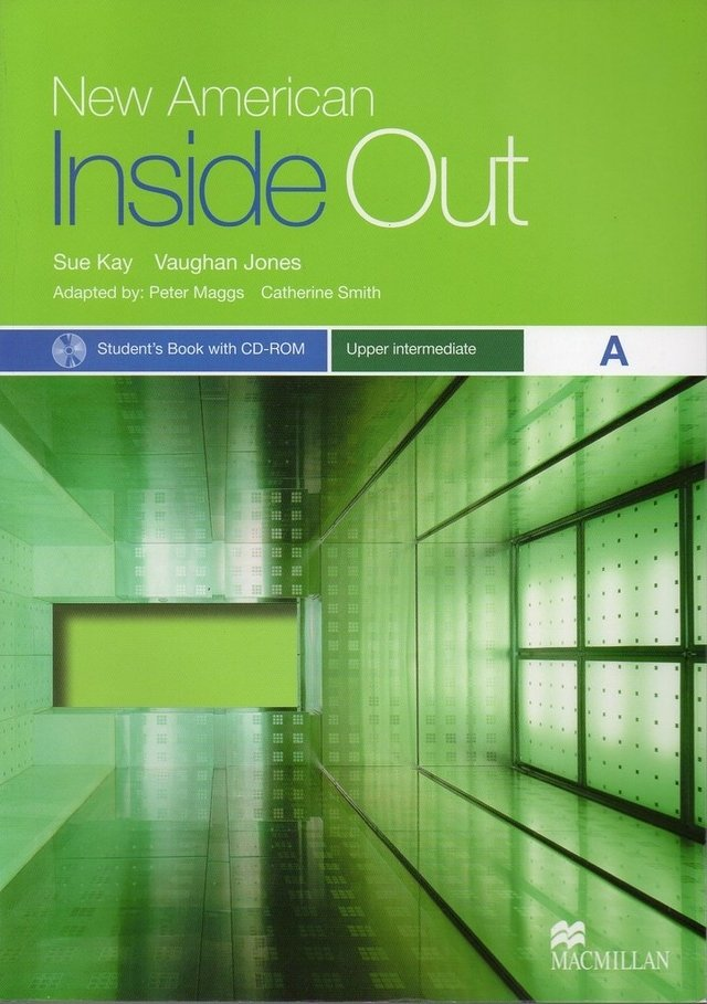 NEW AMERICAN INSIDE OUT UPPER-INTERMEDIATE A - STUDENT S BOOK  WITH CD-ROM