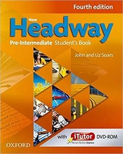 NEW HEADWAY PRE-INTERMEDIATE - STUDENT S BOOK WITH ITUTOR DVD-ROM - FOURTH