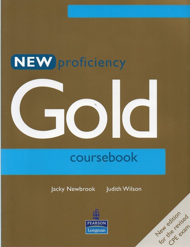 NEW PROFICIENCY GOLD - COURSE BOOK