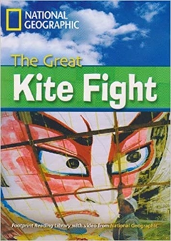 THE GREAT KITE FIGHT - FOOTPRINT READING LIBRARY - BRITISH ENGLISH