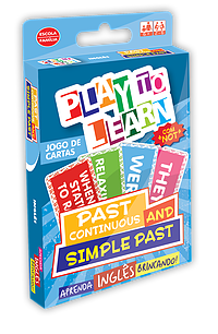 PLAY TO LEARN - PAST CONTINUOUS AND SIMPLE PAST (JOGO DE CARTAS)