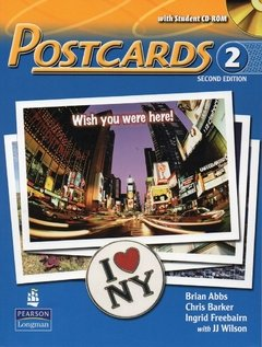 POSTCARDS 2 - STUDENT'S BOOK WITH SUPER CD-ROM - SECOND EDITION