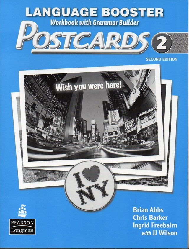 POSTCARDS 2 - LANGUAGE BOOSTER (WORKBOOK WITH GRAMMAR BUILDER) - SECOND EDITION