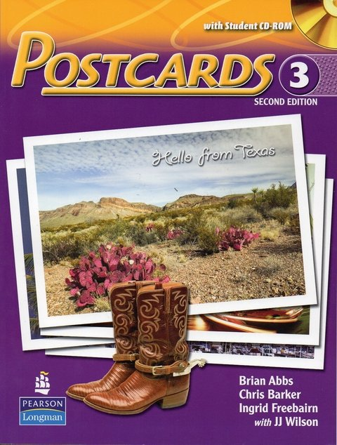 POSTCARDS 3 - STUDENT'S BOOK WITH SUPER CD-ROM - SECOND EDITION
