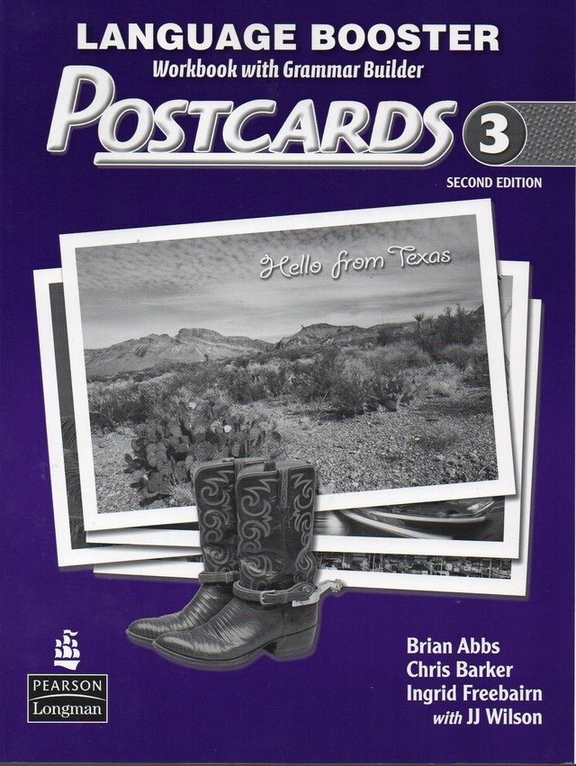 POSTCARDS 3 - LANGUAGE BOOSTER (WORKBOOK WITH GRAMMAR BUILDER) - SECOND EDITION