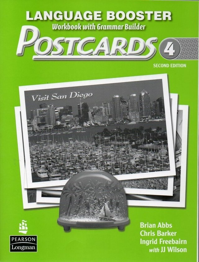 POSTCARDS 4 - LANGUAGE BOOSTER (WORKBOOK WITH GRAMMAR BUILDER) - SECOND EDITION