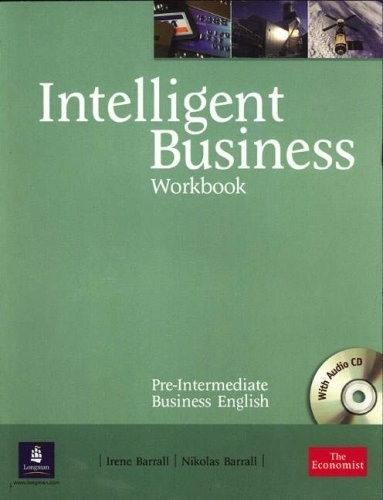 INTELLIGENT BUSINESS PRE-INTERMEDIATE - WORKBOOK WITH AUDIO CD