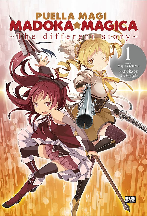 PUELLA MAGI MADOKA THE DIFFERENT STORY #01