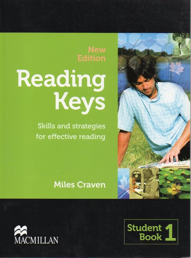 READING KEYS NEW EDITION 1 - STUDENT BOOK - SKILLS AND STRATEGIES FOR EFFEC