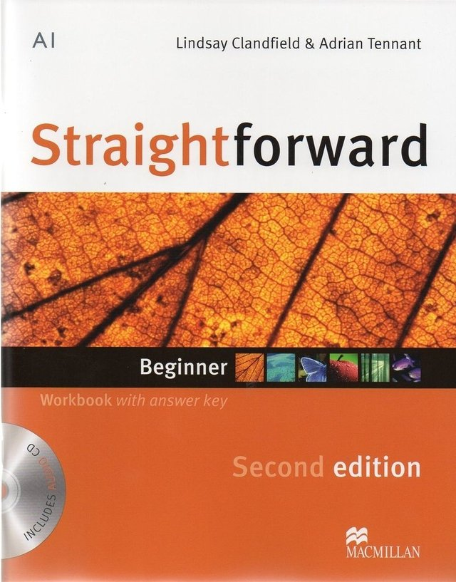 STRAIGHTFORWARD BEGINNER - WORKBOOK WITH KEY WITH AUDIO CD - SECOND EDITION