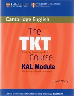 THE TKT COURSE KAL MODULE