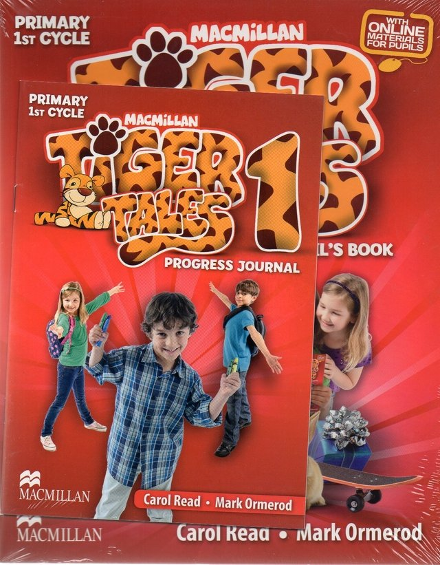 TIGER TALES 1 - PUPIL S BOOK WITH PROGRESS JOURNAL