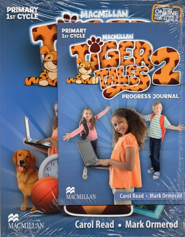 TIGER TALES 2 - PUPIL S BOOK WITH PROGRESS JOURNAL