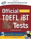 OFFICIAL TOEFL IBT TESTS - VOLUME 1 - SECOND EDITION