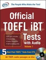 OFFICIAL TOEFL IBT - TESTS WITH AUDIO VOLUME 1 - comprar online