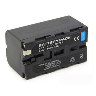 Batería Digital Battery Pack Tipo Sony Serie L NP-F750/F770 - comprar online