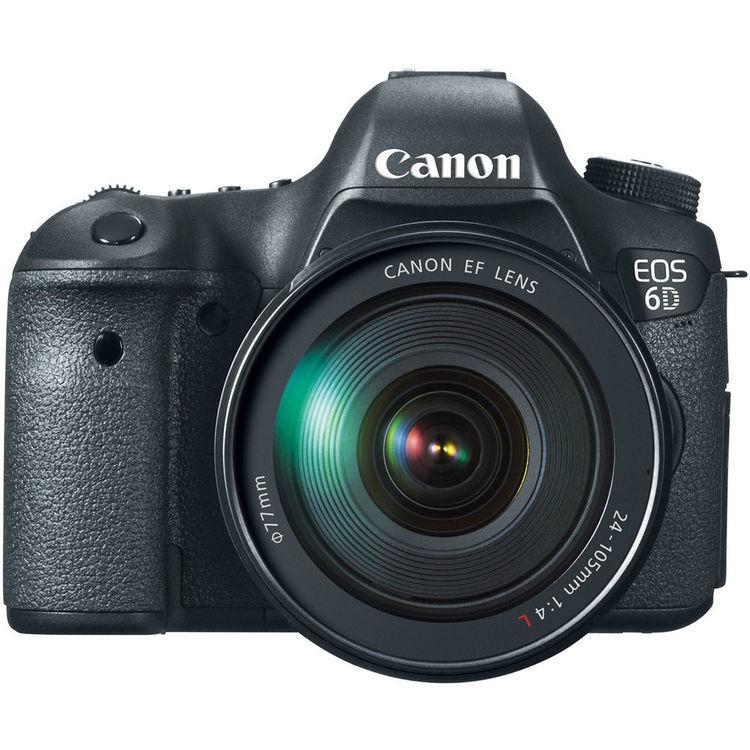 Cámara Canon EOS 6D con Lente 24-105mm