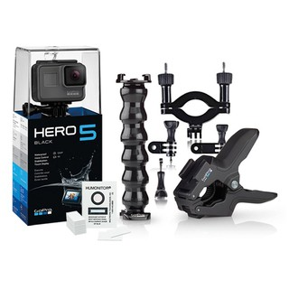 Cámara GoPro HERO5 Black Súper Bundle