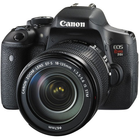Canon EOS Rebel T6i con Lente 18-135mm