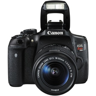 Canon EOS Rebel T6i con Lente 18-55mm en internet