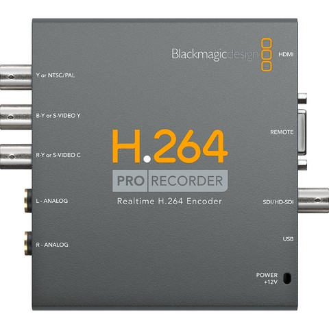 Capturador de Imagen SD-HD Blackmagic Design H.264 Pro Recorder