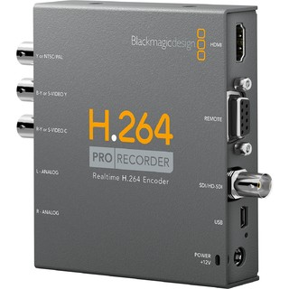 Capturador de Imagen SD-HD Blackmagic Design H.264 Pro Recorder en internet